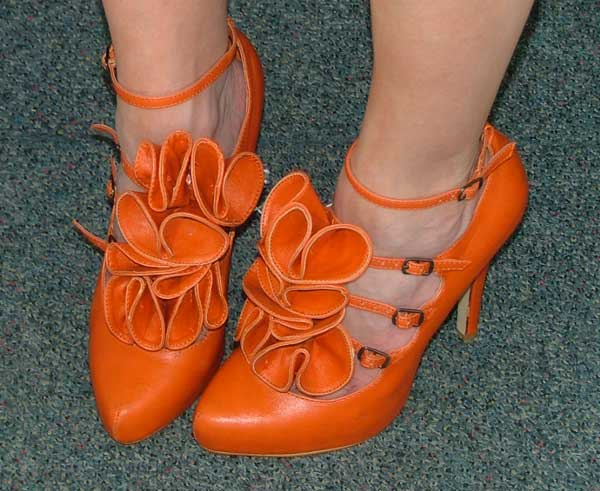 orange-flower-shoes