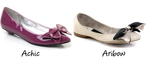 bow-front-flat-shoes