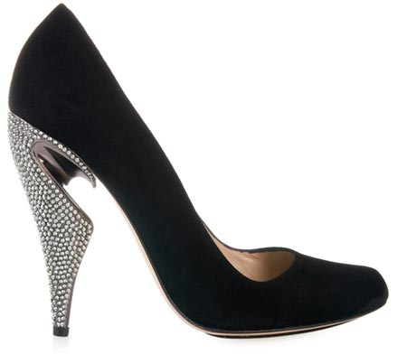 pumps and heels. pumps with crystal heels