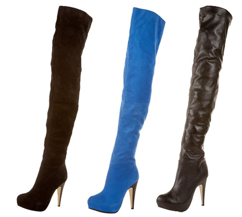 Topshop&39s &39Brittany&39 thigh high boots &gt Shoeperwoman