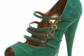 toshop-green-suede-shoes