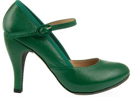 repetto-green-high-heels