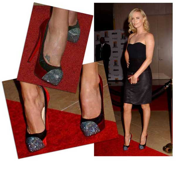 Charlize Theron in Christian Louboutin