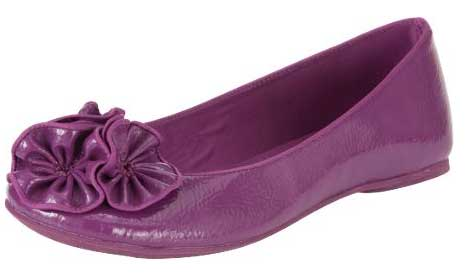 Blowfish Purple Flower Pumps From Oli Gt Shoeperwoman