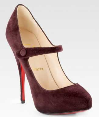 Christian Louboutin Decocolico Mary Janes