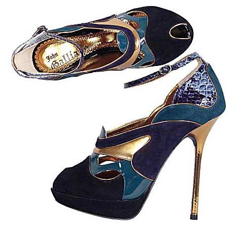 john galliano shoes. john galliano heels John