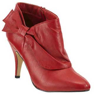 red-bow-booties