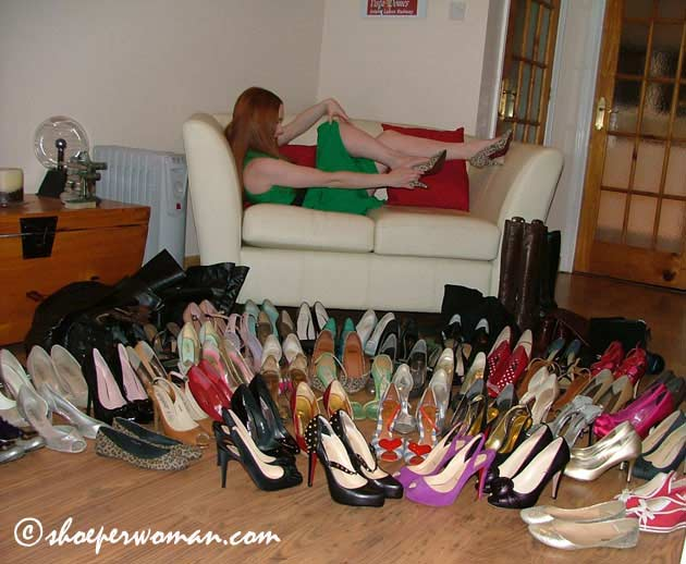 Pairs Of Shoes. 71 pairs of shoes