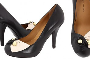 dc383e448bdb Marc by Marc Jacobs black and white pumps
