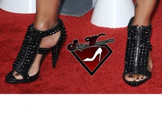 Garcelle Beauvais in Givenchy shoes