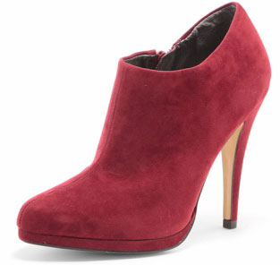 New Shoes! Red platform shoe boots from