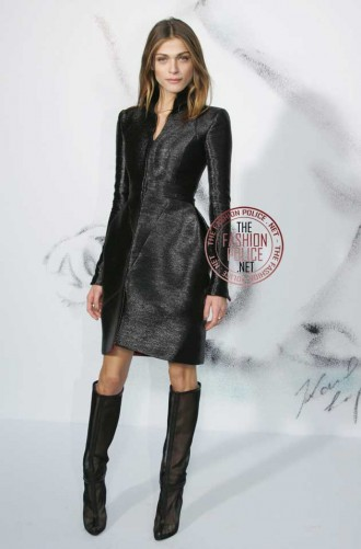 Elisa Sednaoui in Christian Louboutin boots