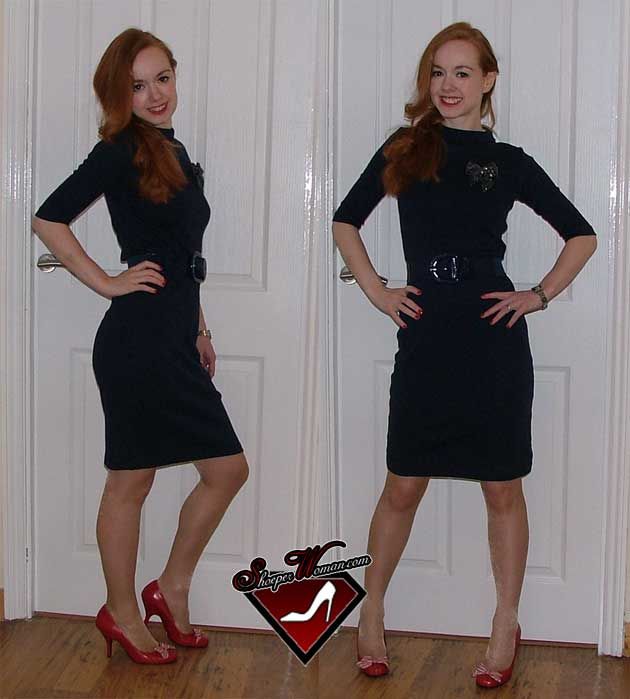 blue-dress-red-shoes