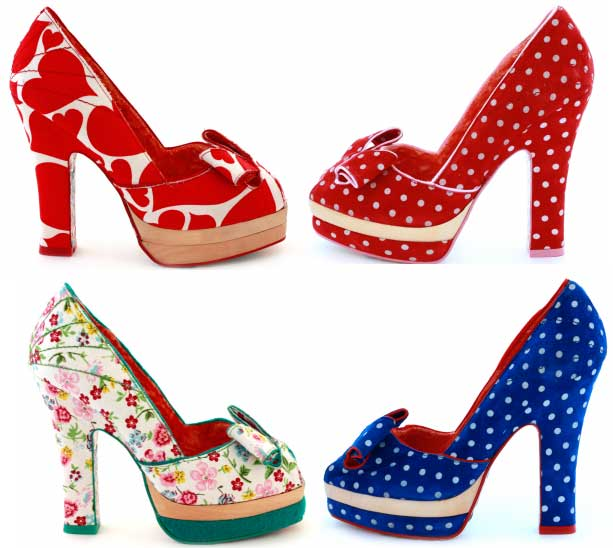 918fb61cbe6d Irregular Choice Kim Oh No platform bow shoes   Shoeperwoman
