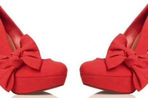 kurt-geiger-red-bow-shoes