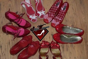 red-shoe-collection