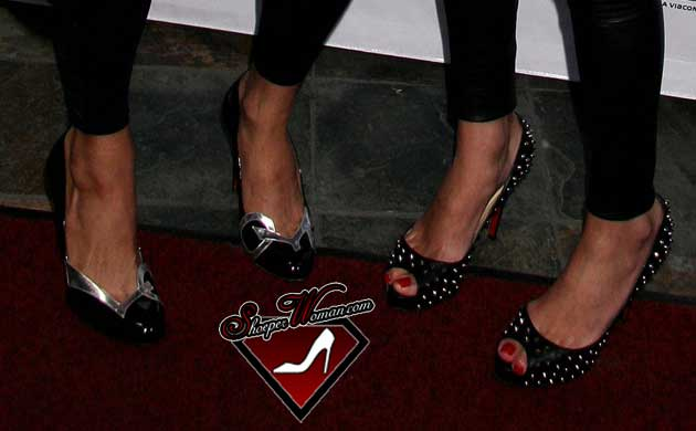 Paris and Nicky Hilton in Christian Louboutin