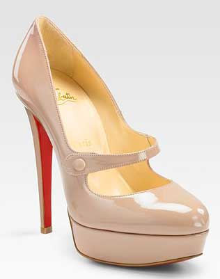 9ce88d34cc9 Friday Night Louboutin Fix: Christian Louboutin Relika platform Mary ...