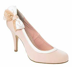 pink grosgrain court shoes from new look gt shoeperwoman