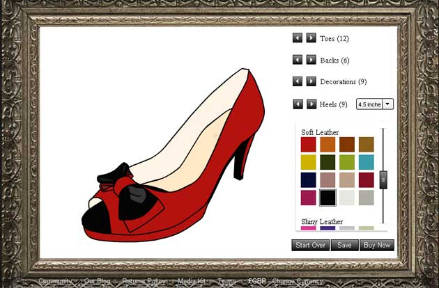 06ed90841a3 Shoes of Prey  the site that lets you design and buy your own shoes ...