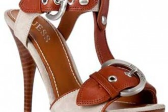 guess-buckle-detail-sandals