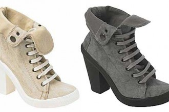 high-heel-canvas-shoes