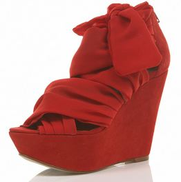 red wisteria wedges
