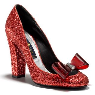patrick cox red dorothy shoes