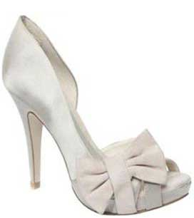 Budget Bridal Shoes Moda In Pelle S Imogen Champagne Satin