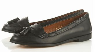 tassle loafers from topshop