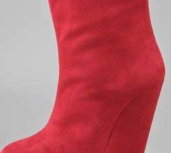 giuseppe-zanotti-red-wedge-ankle-boots