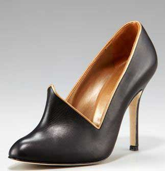 manolo blahnik asymmetric booties