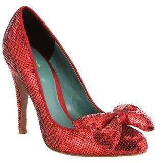 Sparkly Red Shoes: Shoeperwoman's Ultimate Lust List >