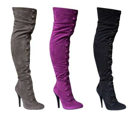 bakers melanie lace up the knee boots an