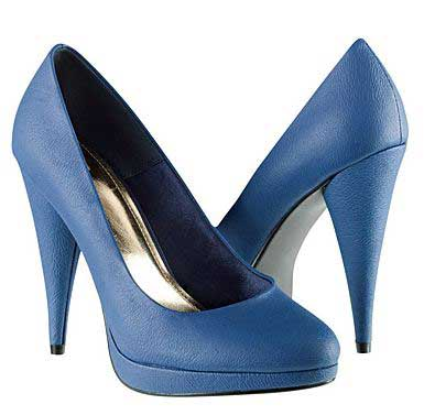 blue high heeled shoes. Black Bedroom Furniture Sets. Home Design Ideas