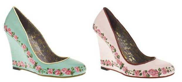 ace64088ec7d Irregular Choice  Rosie Rules  floral platforms · Read More · High Heels ...