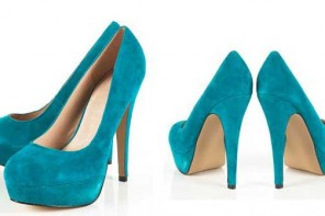 teal-suede-platform-shoes