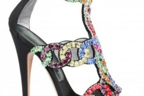 casadei crystal lovers sandals
