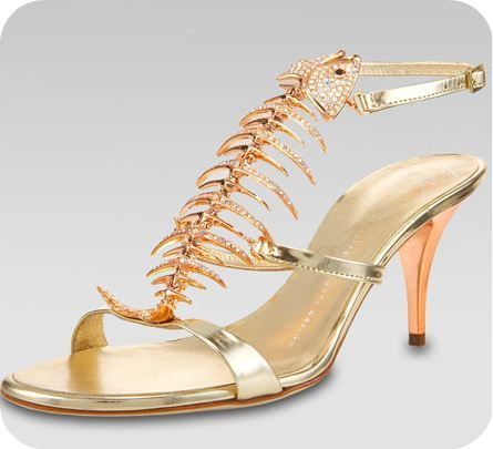 2ab0c278913c4 Giuseppe Zanotti crystalized fishbone sandals > Shoeperwoman