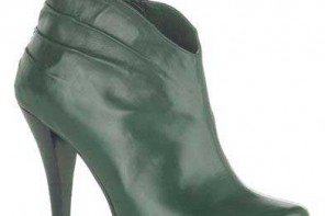 green-ankle-boots