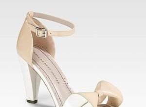 marc jacobs bow front sandals
