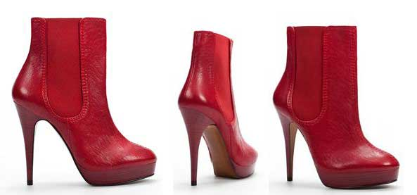 red-zara-ankle-boots &gt