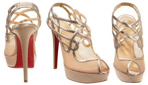 Friday Night Louboutin Fix: Christian Louboutin Brandaplato mesh ...