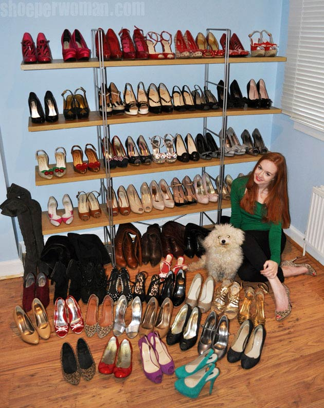 bc564ad37d66 69 pairs of shoes and counting...   Shoeperwoman