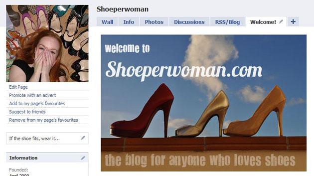 shoeperwoman-on-facebook-and-twitter