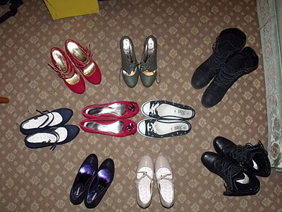 Pairs Of Shoes. Drea, 9 pairs of shoes