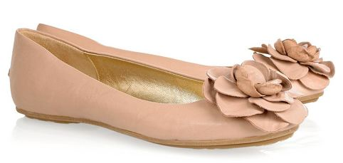789994e843f Jimmy Choo  Warwick  leather ballerina flats