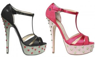 john-richmond-studded-satin-platform