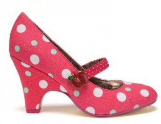 poetic licence polka dot shoes