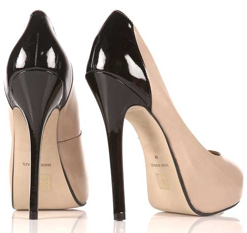 Shoe Deja Vu: Nude heels by Brian Atwood and Topshop > Shoeperwoman